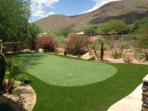 custom backyard putting green installers in Scottsdale