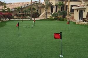 artificial grass putting green in Phoenix