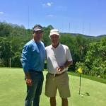 Celebrity Greens Founder Weston Weber, and 2-time Masters Champion Ben Crenshaw