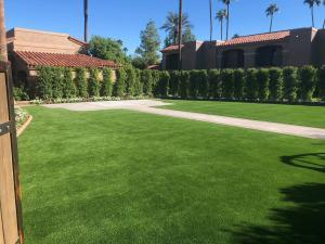 wedding venue with synthetic turf