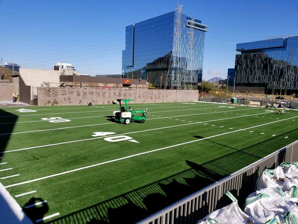 sports field artificial turf