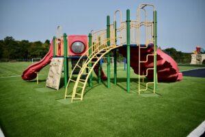 artificial grass playground turf